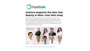 Science Supports The Idea That Beauty Is More Than Skin Deep